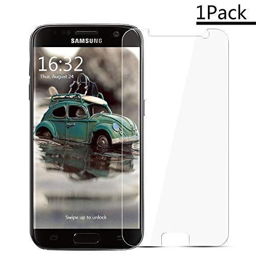 XCYYOO [1 Pack] Pellicola Vetro Temperato Samsung Galaxy S7 [Copertura Completa], 9H Durezza Ultra Resistente1 Protettiva Proteggi Schermo per Samsung Galaxy S7 (0.33mm HD Alta Trasparente)