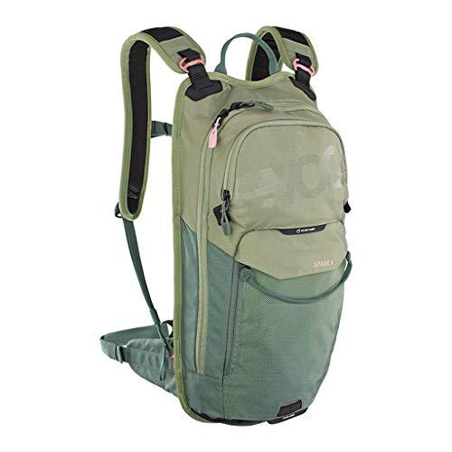 Evoc Stage 6L Backpack + Pocket 2L Olive Green Mountain Bike Unprotective Adult Unisex 8
