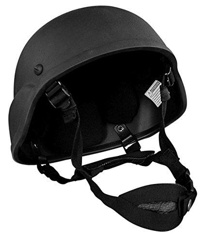 Commando Industries CI US Army Special Forces Helm verstellbar Motorradhelm Biker Einsatzhelm (Schwarz)