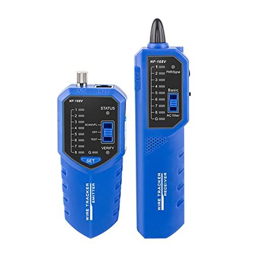 Wacent Probador de Cables NF-168V Rastreador de Cables Red telefónica Probador de...