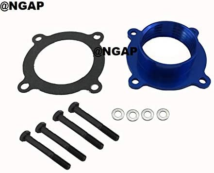 Blue Billet Throttle Body Spacer For Free Shipping Cheap Bargain Topics on TV Gift G Liberty 07-12 07-09 3.7L