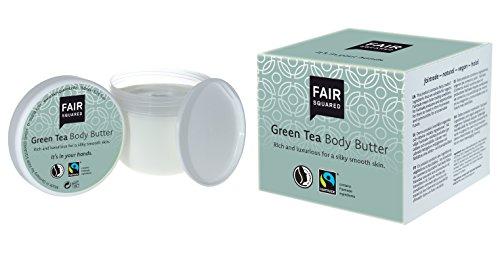 FAIR SQUARED Body Butter, body boter Green Tea, groene thee, veganistische natuurlijke cosmetica, 150 ml