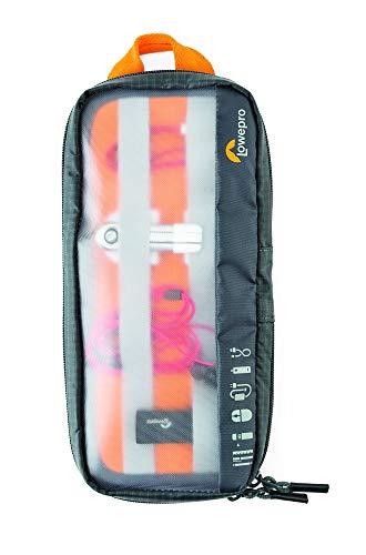 Lowepro LP37139Gearup Medium Travel organizer borsa, grigio scuro