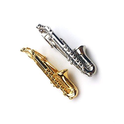 Saxophone Tie Clip