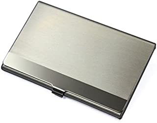 Steel Silver Aluminium Business ID Name Credit Card Holder Case Cover Stylish