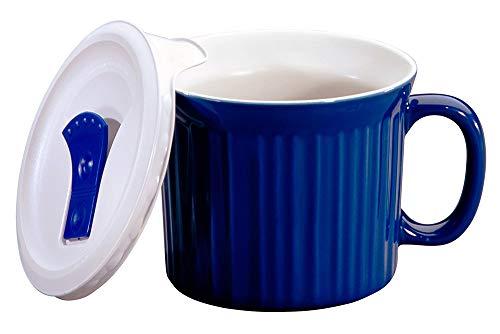 microwavable ceramic mug with lid - 7
