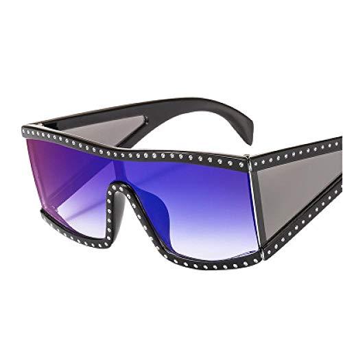 FRGTHYJ Gafas Gafas de Sol de Mujer Gafas de Sol de Cristal...