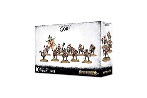Warhammer - Age of Sigmar Beasts of Chaos:Brayherds Gors (81-18) Games Workshop