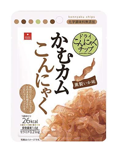 アスザックフーズ かむカムこんにゃく 薫製いか味 10g [2218]