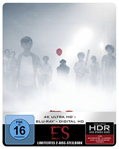 ES als Steelbook (Limited Edition exklusiv bei Amazon.de) (4K Ultra HD + 2D Blu-ray) [Blu-ray]