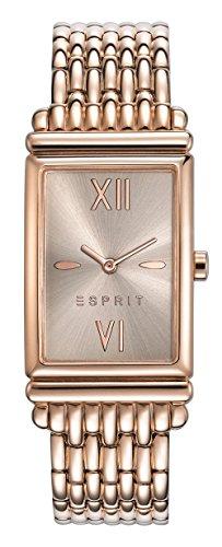 Esprit Damen-Armbanduhr ES VICKI ROSE GOLD Analog Quarz Edelstahl ES108492003