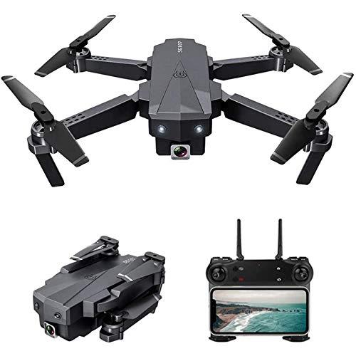 JJDSN FPV RC Drone con cámara 4K HD, Quadcopter RC Plegable con Control de App, Modo sin Cabeza, 360 Grados;Rotación, trayectoria de Vuelo, Drones para Adultos y niños