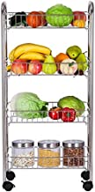 Home Living Museum/Stainless Steel Kitchen Rack Floor Multi Layer Storage Rack Microwave Oven Space Saving Household Stora...