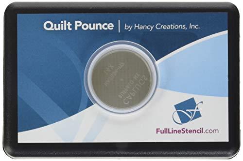 Hancy Ultimate Quilt Pounce Pad con tiza en polvo, 2 onzas, color blanco