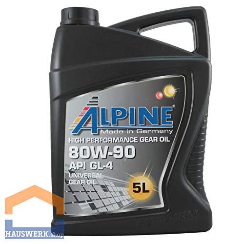Alpine SAE 80W- 90 GL- 4 / 5 Liter Kanister Getriebeöl