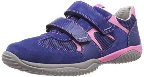 Superfit Jungen Storm Sneaker, Blau (Blau/Rosa 83), 35 EU