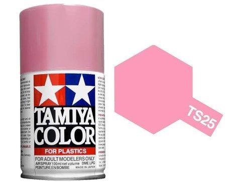 Tamiya 85025. Spray TS-25. Pintura esmalte color Rosa