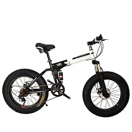 N/Z Home Equipment Folding Bicycle Mountain Bike 26 Inch with Super Lightweight Steel Frame Dual Suspension Folding Bike and 27 Speed Gear Black 27Speed