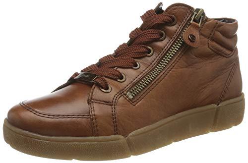 ARA Damen ROM Sneaker, Cognac, 36 EU