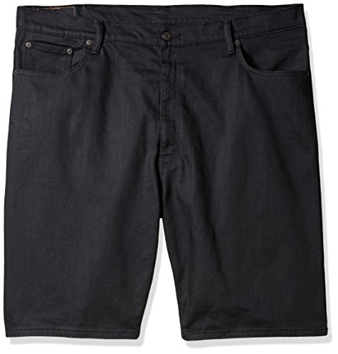 Levi's Men's Big and Tall 569 Loose Straight Denim Short, Smokey Mountain-Stretch, 48
