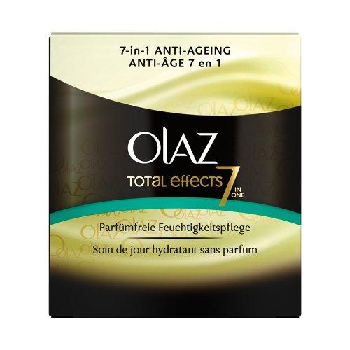 Olaz Total Effects Feuchtigkeitsspendende Tagespflege parfümfrei, 50ml