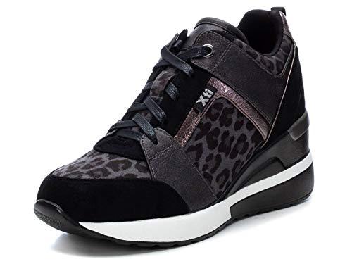 XTI 44654, Zapatillas Mujer, Gris, 37 EU