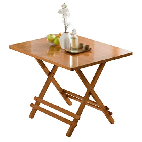 LZL Easy And Portable Folding Table, Lightweight And Portable Camping Table, Indoor and Outdoor,Use Used As Picnic Table, Grill Side Table, BBQ (Color : Brown)