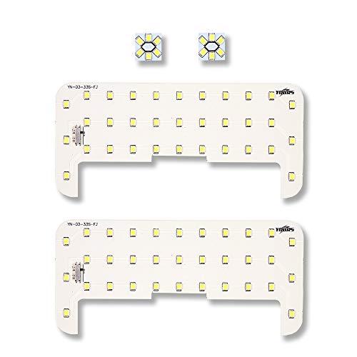 YOURS(ユアーズ) トヨタ ノア ヴォクシー エスクァイア 80系 純正LED車 専用 (減光調整付き) 専用設計 LED ...