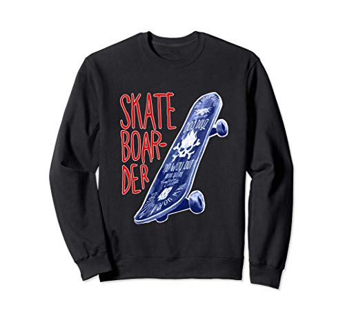 Skateboarder Xtreme Sports Sweatshirt