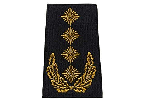 baum-m gmbh Rangschlaufen für Schulterklappen, Farbe:schwarz General
