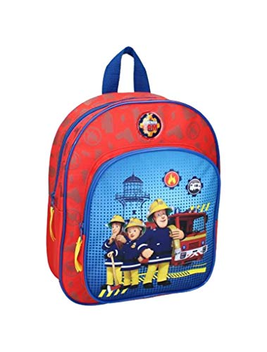 OZABI – Zaino (bagagli, borse, zaini, zaini, zaini, zaini, zaini, zaini, zaini, zaini fantasia Sam Il Pompiere
