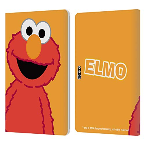Head Case Designs Officially Licensed Sesame Street Elmo Characters Leather Book Wallet Case Cover Compatible with Microsoft Surface Pro 4/5/6