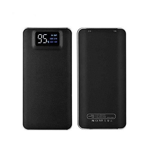 OSB STYLE 30000 mah Banco de energía USB Batería Externa LCD Teléfono móvil portátil Daul Cargador USB Powerbank para Xiaomi MI iPhone X Samsung 8