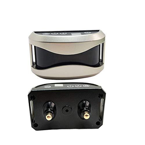 Asudaro Dispositivo antiabbaio Elettrico Ricaricabile, addestratore di Cani, Impermeabile IP67 3 modalità - Shock Elettrico Vibrazione sensibilità - con 7 Livelli Regolabili, per Smettere di abbaiare