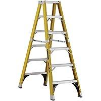 Louisville Ladder 6 ft. Fiberglass Twin Step Ladder