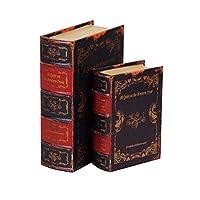 ブック型収納ボックス BOOK BOX 2個セット 28274 【人気 おすすめ 通販パーク】