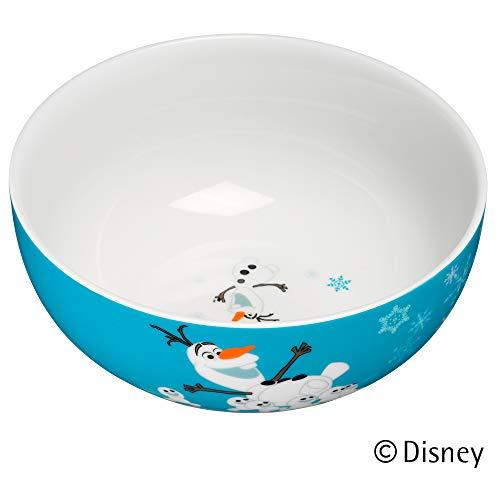 WMF Disney Frozen - Cuencos de porcelana para niños (13,8 cm, aptos para lavavajillas), colores y alimentos