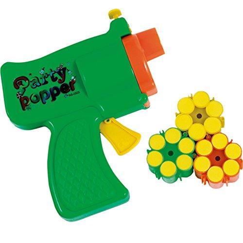 Mottoland NEU Konfetti Pistole mit Munition