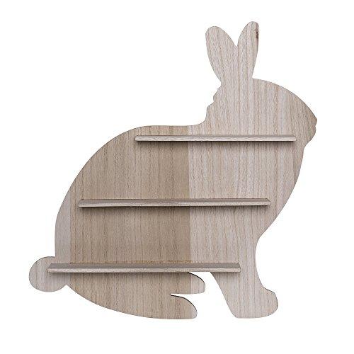 Étagère en forme de lapin, Bloomingville, Nature