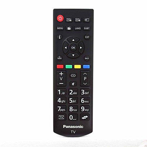 Panasonic 30092556 RCA39126 Original Fernbedienung für TX43D302B TX43DW334 TX32EW334 LCD LED 3D HD-Smart-TVs