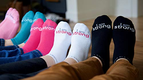 Notes to Self – I am Strong Socks – Inspirational Socks for Women & Men