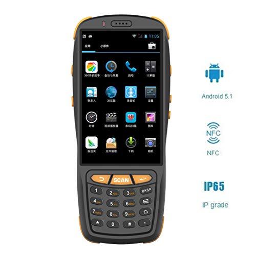 Portable Android 5.1 Barcode Scanner Inventaire Sans Fil Terminal De Données, Codes Barres 2D Engine, 4G GPS BT NFC IP65, WLAN 802.11B / G/N, Pour Les Entreprises De Collecte De Données