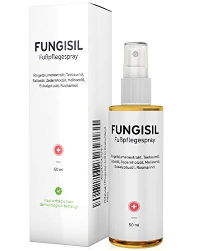 FUNGISIL Original | Pflegeöl für Fuß & Nagel - 50ml - Hochdosiert | Bei Fußpilz & Nagelpilz | Hergestellt in Deutschland