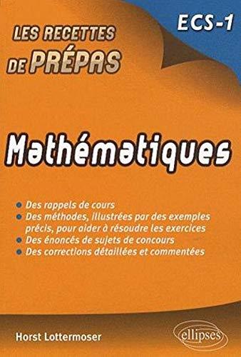 Mathématiques ECS-1