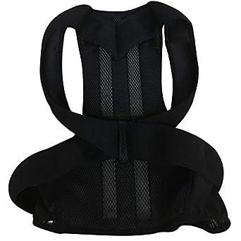 Corrección jorobada de espalda de la columna vertebral ortesis escoliosis soporte lumbar espinal curvada ortesis fijación para la postura