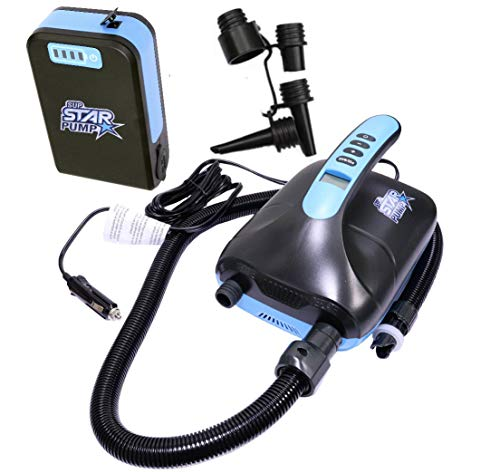 STAR PUMP 8 SUP Pump 12V Super Electric Pump E-Pumpe mit Akku Powerbank