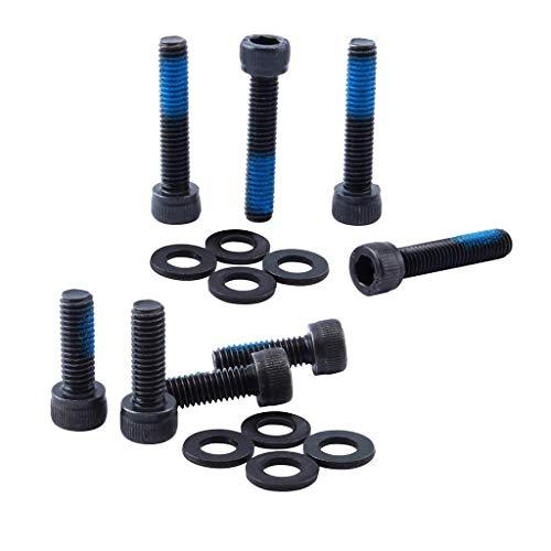 perfeclan 8X Fahrradhalterung Adapter Stahl Scheibenbremse Bremssattel Befestigungsschrauben
