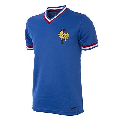 Copa Frankreich Retro Trikot 1971 blau blau, L