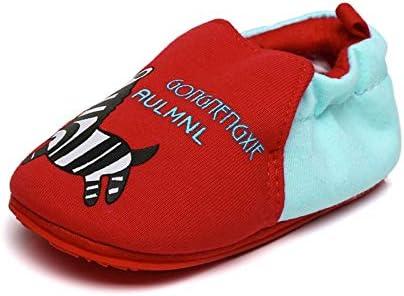 Gavena Zapatos de bebé sin Cordones para Primer Paseo con Suela de Goma Antideslizante Suave 18-24 Meses Zebra