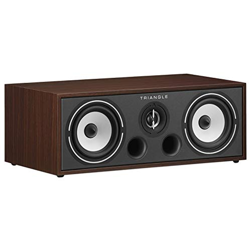 Buy triangle HiFi Home Cinema Center Speaker - Borea BRC1, Walnut